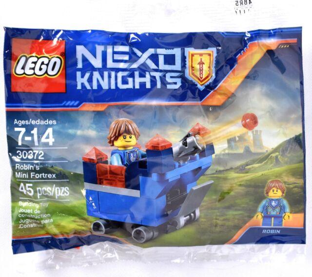 Mini Fortrex 45pcs Knights 30372 Polybag Lego Robin's Nexo UqVLMGpjSz