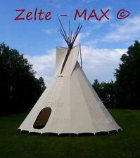 Tipi Zelt bis Ø 10m Indianerzelt Indianertipi Sioux Wigwam Indianer