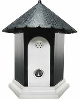 Outdoor Ultrasonic Pet Dog Cat Anti Barking Control Birdhouse Nuisance Stop Bark