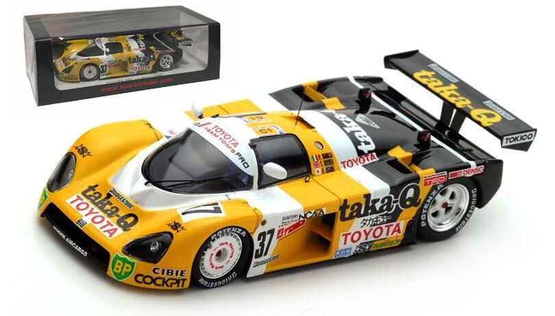 SPARK S5243 TOYOTA 88 C  37 Le Mans 1988-Barilla Needell Ogawa échelle 1 43