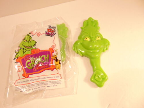 Grinch that Stole Christmas toy hand mirror Wendy/'s promotion