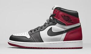 7929a1a1b123 Nike MEN S Air Jordan 1 Retro High OG BLACK TOE SIZE 11 BRAND NEW ...