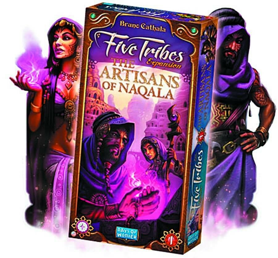 Five Tribes The Artisans of Naqala Expansion Board Game by Days of Wonder