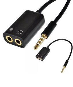 3-5mm-Audio-Mic-Splitter-Cable-Adapter-TRRS-to-2-TRS-For-iPhone-iPad-Laptops