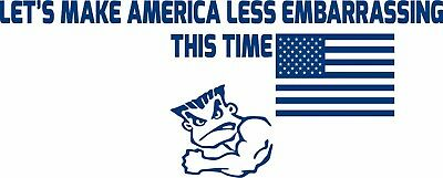 1x STICKER ANY TIME AIR FORCE decal US UNITED STATES