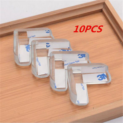 2//10PCS Baby Child Silicone Protectors Safe Table Corner Edge Protection Covers