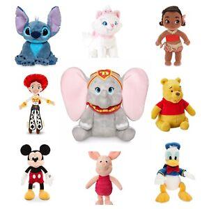 Disney-Store-Plush-Dumbo-Lilo-amp-Stitch-Moana-Winnie-Piglet-Jessie-Stuffed-Animal
