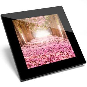 1 X Cool Pink Blossom Tree Verre Coaster-cuisine étudiant Qualité Cadeau #8270-afficher Le Titre D'origine Les Produits Sont Vendus Sans Limitations