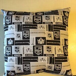 Kings Pillow LA Kings Pillow NHL Pillow Hockey  Handmade in USA