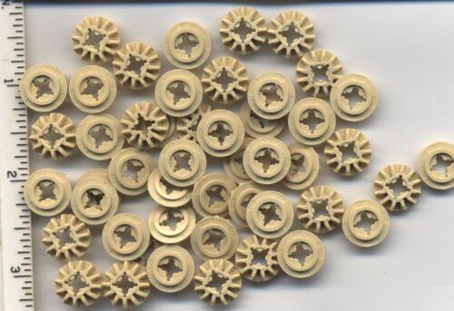 Gear 12 Tooth Bevel NEW LEGO x 48 Tan Technic