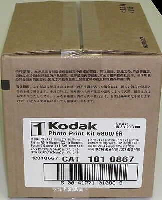 6850 Thermal Printer 6R Ribbon /& Paper 141 9597 Kodak Photo Print Kit for 6800