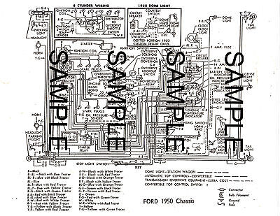 1960 FORD 60 FORD MOTOR COMPANY CHASSIS WIRING GUIDE ...