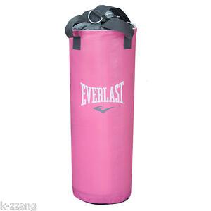 Image Is Loading Everlast Pink Leveler Heavy Bag S Punching Boxing