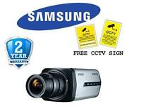 Br Samsung Snb-3002p 1/3 4cif Wdr Network Camera With Micro Sd Recording -poe