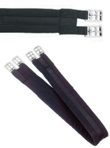 Sattelgurt Kerbl 100 cm schwarz gepolstert neu Sättel, Trensen & Zubehör