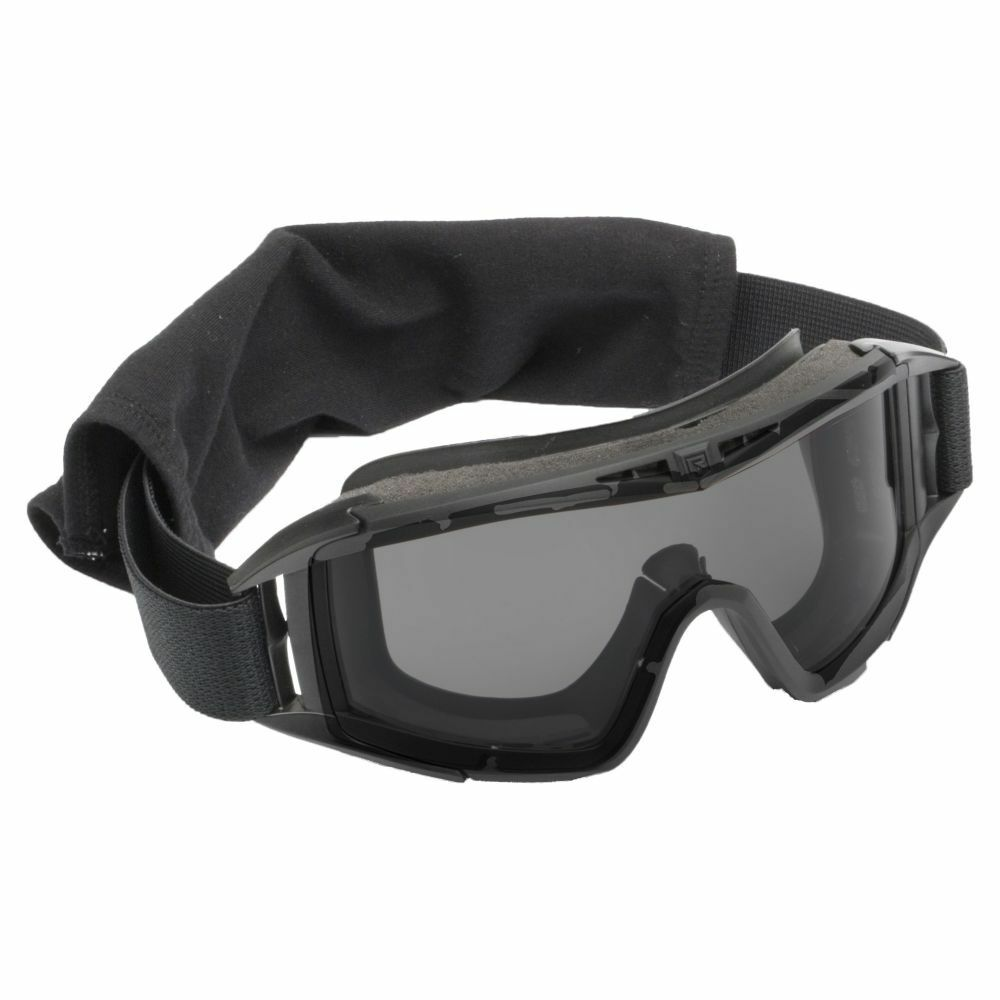 Revision Brille Desert Locust Basic black smoke Glas