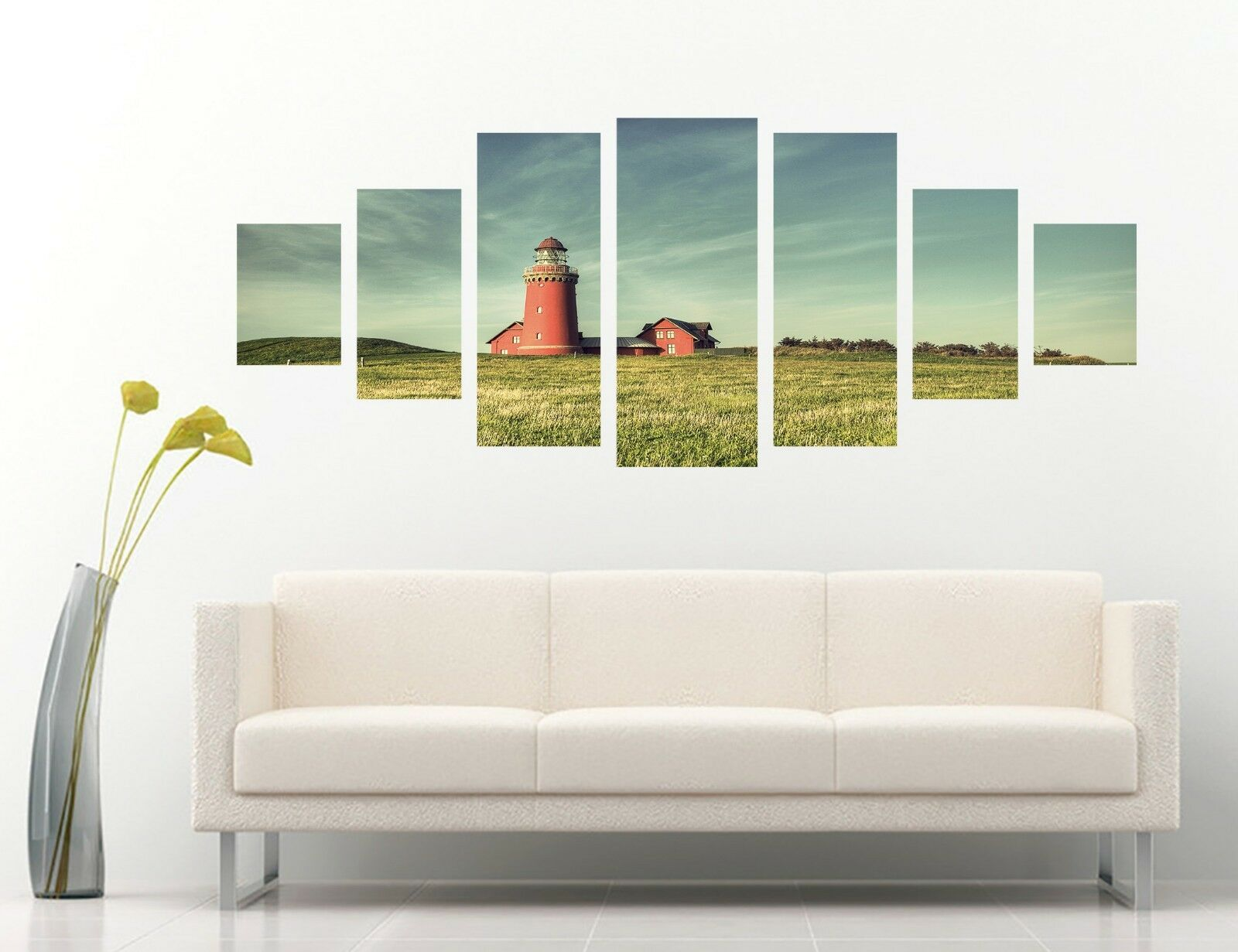 3D Lighthouse Lawn 478 Unframed Print Wall Paper Decal Wall Deco Indoor AJ Wall