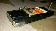 1950s 60s vintage Cadillac 2-Door Japan Tin Friction Car by Ichiko