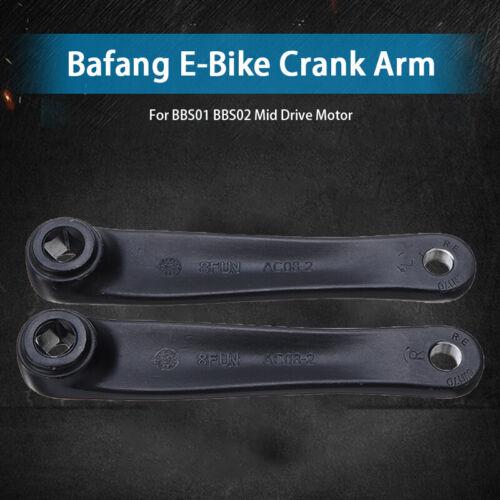 2Pcs BAFANG E-Bike Kurbelsatz Vierkant 8Fun BBS01 BBS02 Motorumstellung Kits