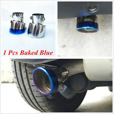 1 Pcs Stainless Exhaust Tip Car Muffler Pipe For Benz Smart 453 Fortwo Forfour