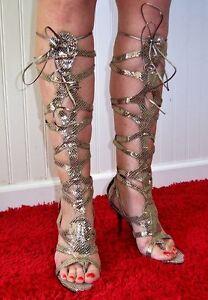 Hollywood 1 Heel Frederick's Heels Bind Maat Of Snake 2 leer leuk 6 vast 5nSAzZq