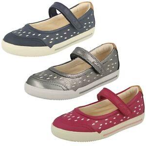 Zapatos Lou' Clarks para con cruzado 'lilfolk planos cuero Pink niñas de cierre qqv4RxB