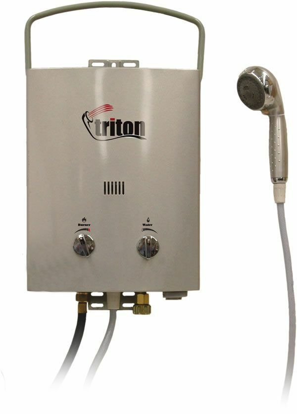 Camp Chef Triton 5L Portable Water Heater   save up to 50%
