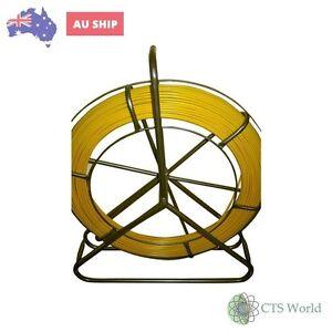 Tandem-Fibreglass-Rodder-Duct-Fish-Snake-Cable-Puller-6-Mm-X-100Mts