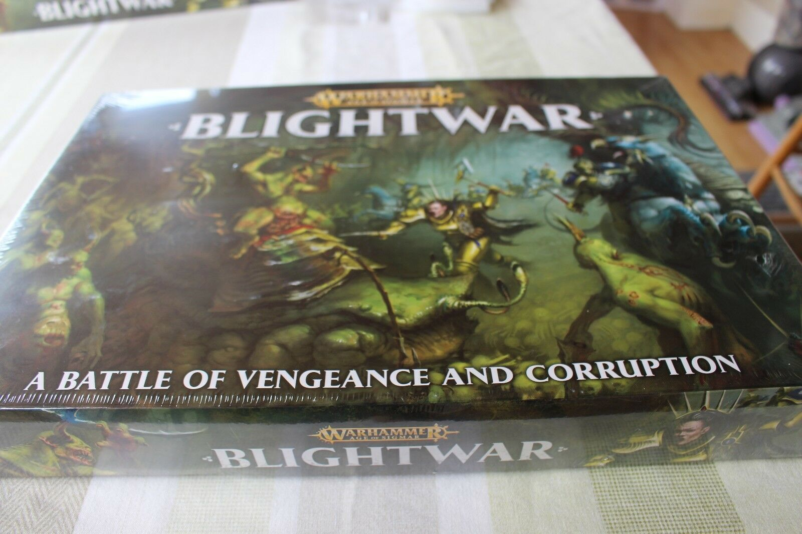 Juegos taller Warhammer blightwar Nuevo Y En Caja Nurgle vs stormcast los eternos Nuevo Y En Caja Nuevo GW