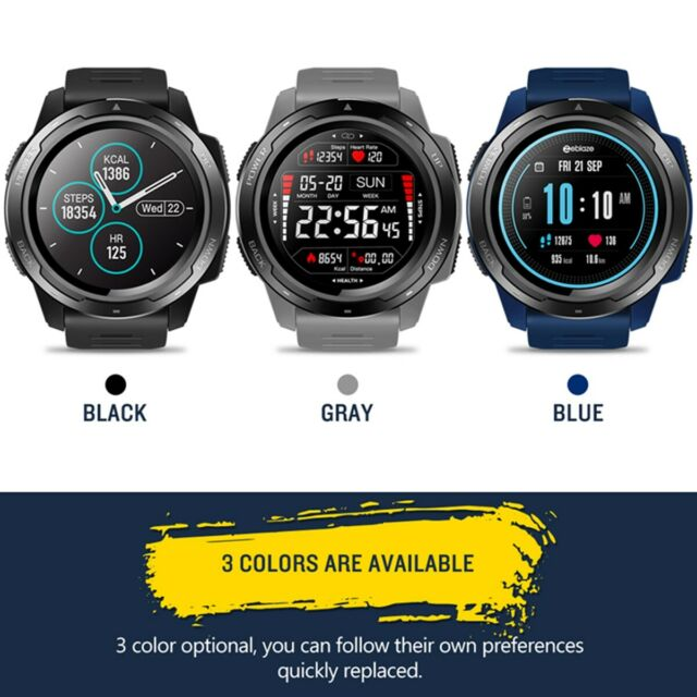 Zeblaze Vibe 3 Hr Fitness Sports Smartwatch Bluetooth 4 0 Ip67