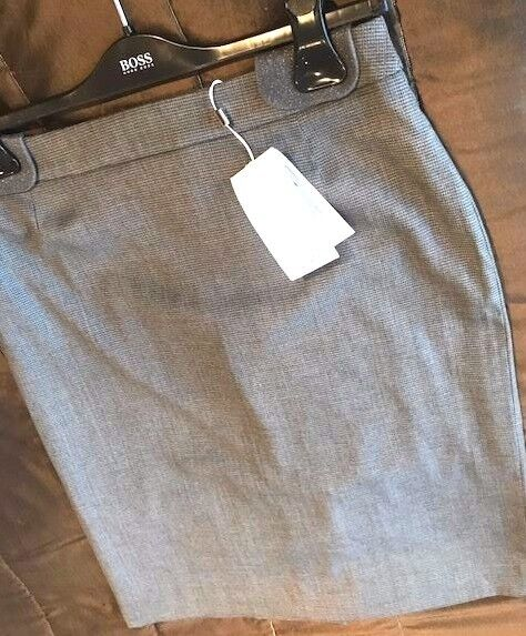 Hugo Boss Ladies Grey Tailored Skirt