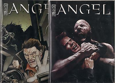 BUFFY THE VAMPIRE SLAYER SET OF COVER A /& B ANGEL #19 NM