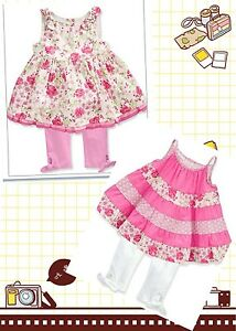 NWT First Impression  Baby Girls 2Set  Top & Leggings  Size:3-6M $77