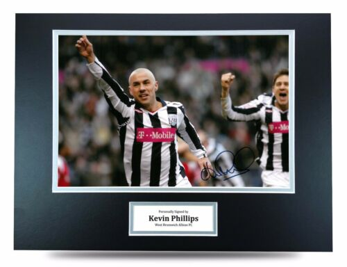 Kevin Phillips Signed 16x12 Photo West Brom Autograph Memorabilia Display COA
