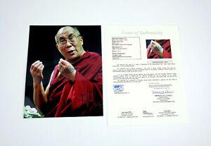 His Holiness The Dalai Lama Signed Autograph 8x10 Photo JSA COA #1