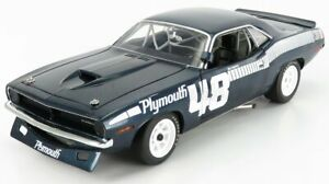 ACME-MODELS 1/18 PLYMOUTH | BARRACUDA N 48 COUPE 1970 D.GURNEY | BLUE WHITE
