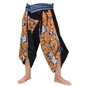 Samurai pants Yoga Pants for men /& women Ninja Pants Boho Hippie Pants