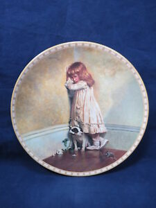 Royal-Doulton-Collector-Plate-Original-In-Disgrace-Charles-Burton-Barber-93-1