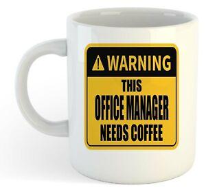 Warning-Esta-Oficina-Director-Necesita-Cafe-Blanco-Taza-Regalo-Trabajo-Regalo