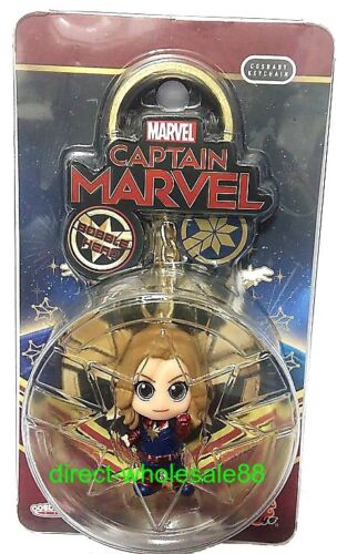 Hot Toy Captain Marvel Cosbaby Keychain key chain