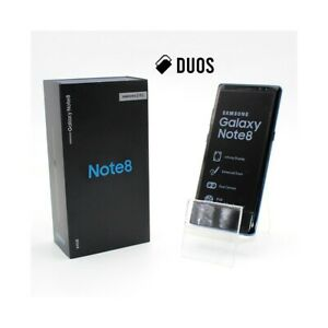 """SMARTPHONE SAMSUNG GALAXY NOTE 8 DUOS BLUE 64GB 6,3"""" DUAL SIM N950FD N950F-"""