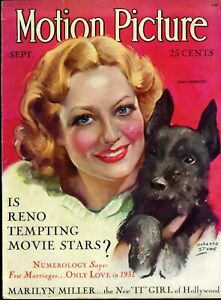 MOTION-PICTURE-Magazine-Sept-1931-JOAN-CRAWFORD-cover-by-MARLAND-STONE