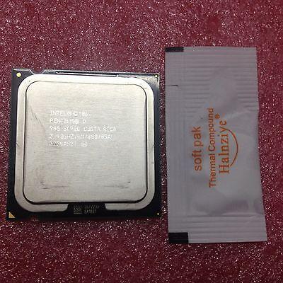 100/% OK Intel Pentium D 945 SL9QQ 3.4 GHz Dual-Core Processor CPU