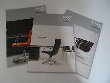 Möbel Design Kusch & Co Katalog Messekatalog Verkaufsunterlagen 70/80er Jahre
