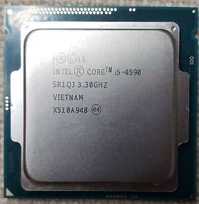 ricondizionato intel Desktop CPU i5-4590 SR1QJ Socket H3 LGA1150 CM8064601560615 BX80646I54590 BXC80646I54590 3.3GHz 6MB 4 core Processore