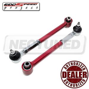 For Mitsubishi Galant 94-03 EA//EC Godspeed AK-026-B Adjustable Rear Toe Arms Kit