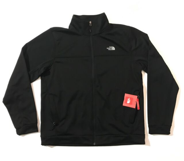 "bf443020b The North Face Men's 100 ""Tenacious"" Cinder Full Zip TNF Black"
