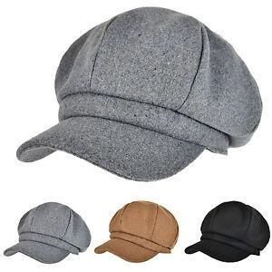 c706ff7044042 Details about Vintage Women's Hat Girls Gatsby Cap Wool Blend Baker Boy  Cabbie Newsboy Hats