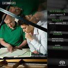 Beethoven: Piano Concerto No. 3; Mozart: Piano Concerto No. 24 Super Audio Hybrid CD (CD, Feb-2014, BIS (Sweden))