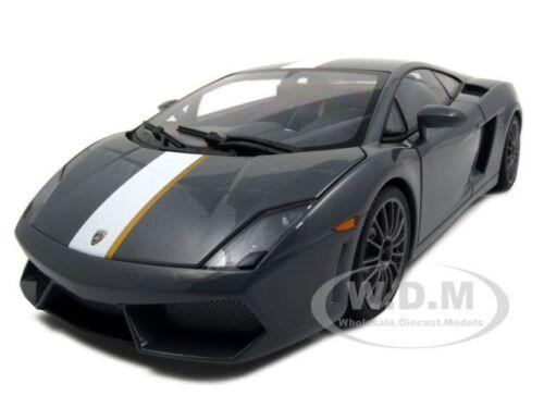 LAMBORGHINI GALLARDO LP550-2 BALBONI GRAY 1//18 MODEL CAR AUTOART 74634